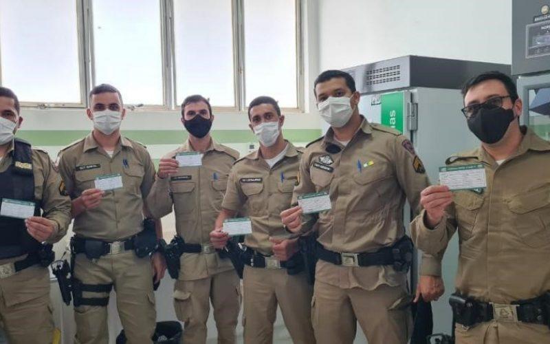 Forças de segurança e salvamento foram incluídas como grupo prioritário do plano de vacinação contra Covid