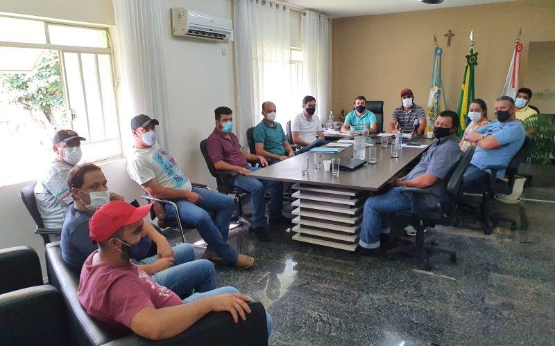 Reunião entre Prefeitura e Câmara de Itapeva