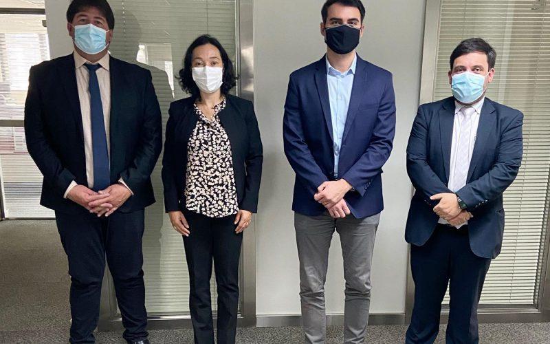 Reunião com a equipe do Meio Ambiente