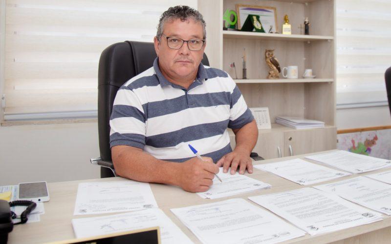 Presidente da Câmara de Extrema, Sidney Soares Carvalho (Walderrama),